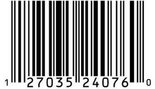 Etiqueta código de barras