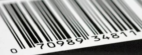 Etiquetas código de barras zebra