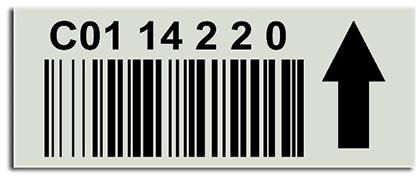 Etiquetas adesivas para supermercado