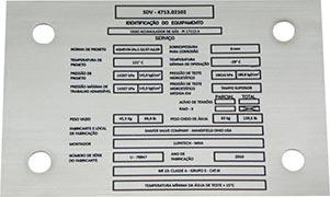 Rótulos e etiquetas adesivas para indústria de auto peça