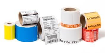 Etiquetas para rotulagem