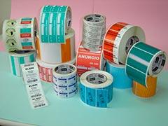Rótulos e etiquetas adesivas para cosméticos
