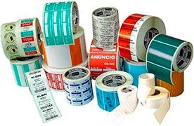 Rótulos adesivos para embalagens