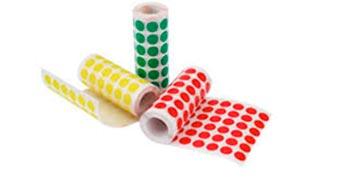 Etiqueta couche adesiva