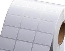Etiqueta adesiva metalizada