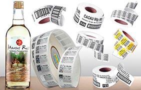 Fabricação de etiquetas adesivas