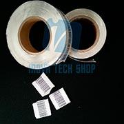 Etiquetas adesivas autodestrutivas