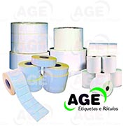 Etiquetas adesivas para ativo fixo